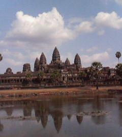 カンボジア!