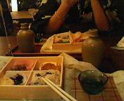 蓮美茶屋にて。