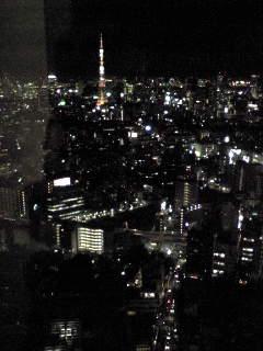ミッドタウンの夜景